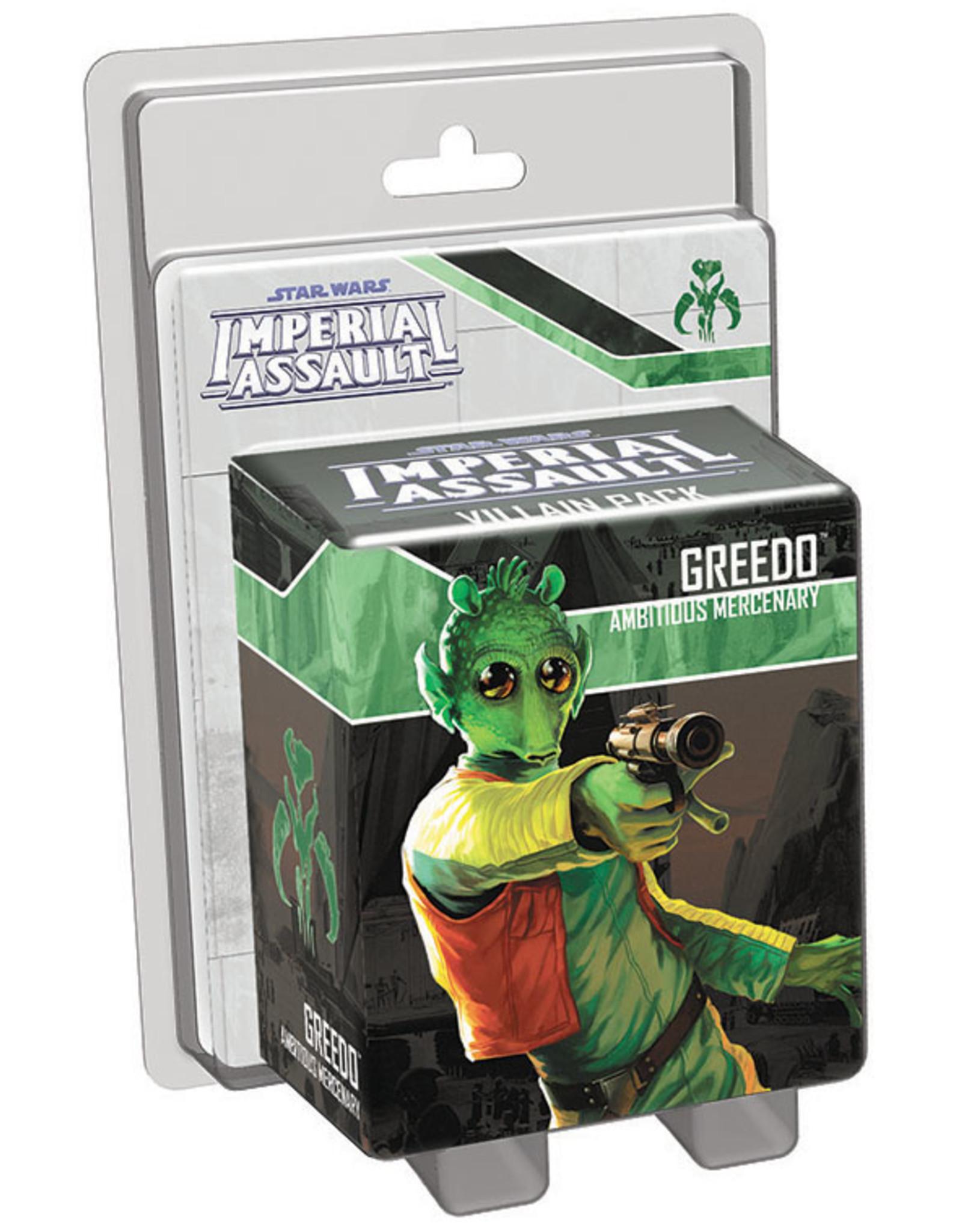 Fantasy Flight Games SW: Imperial Assault: Greedo Villain Pack