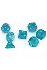 Chessex Borealis 2: Poly Teal/Gold (7)