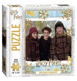 USAopoly Puzzle: HP: Christmas at Hogwarts (550pc)