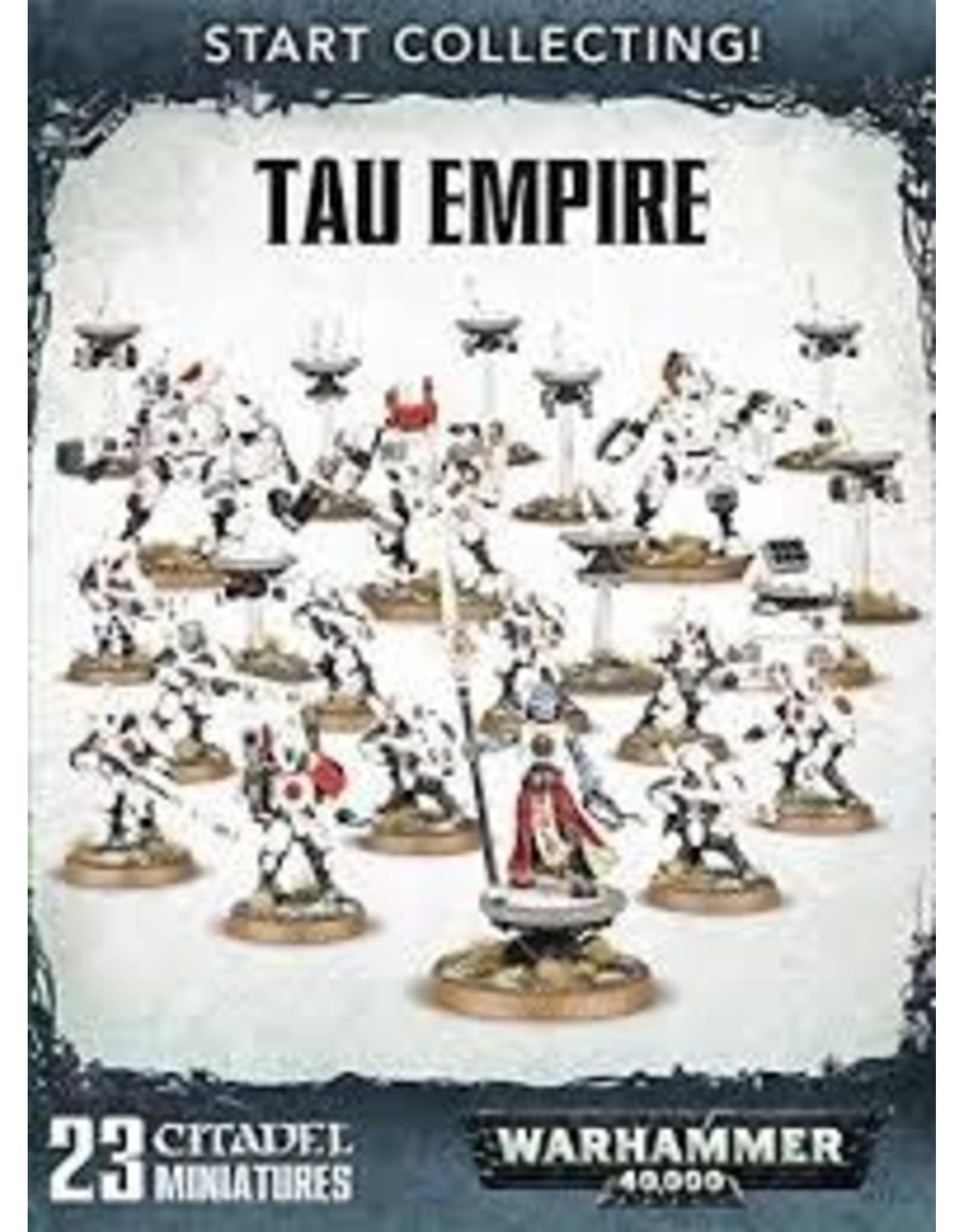 Warhammer 40K Start Collecting! Tau Empire (Craftworlds)