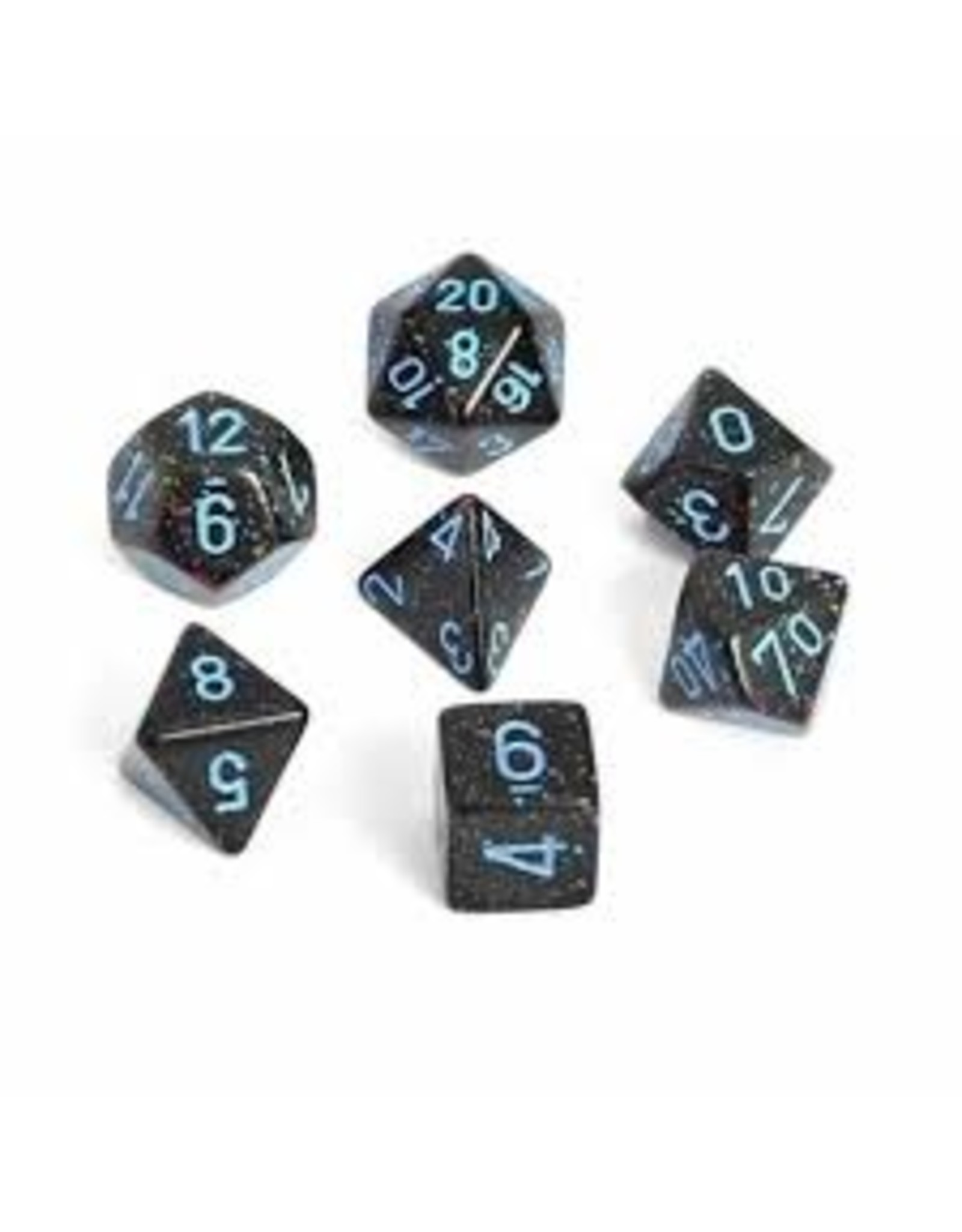 Chessex Blue Stars Polyhedral