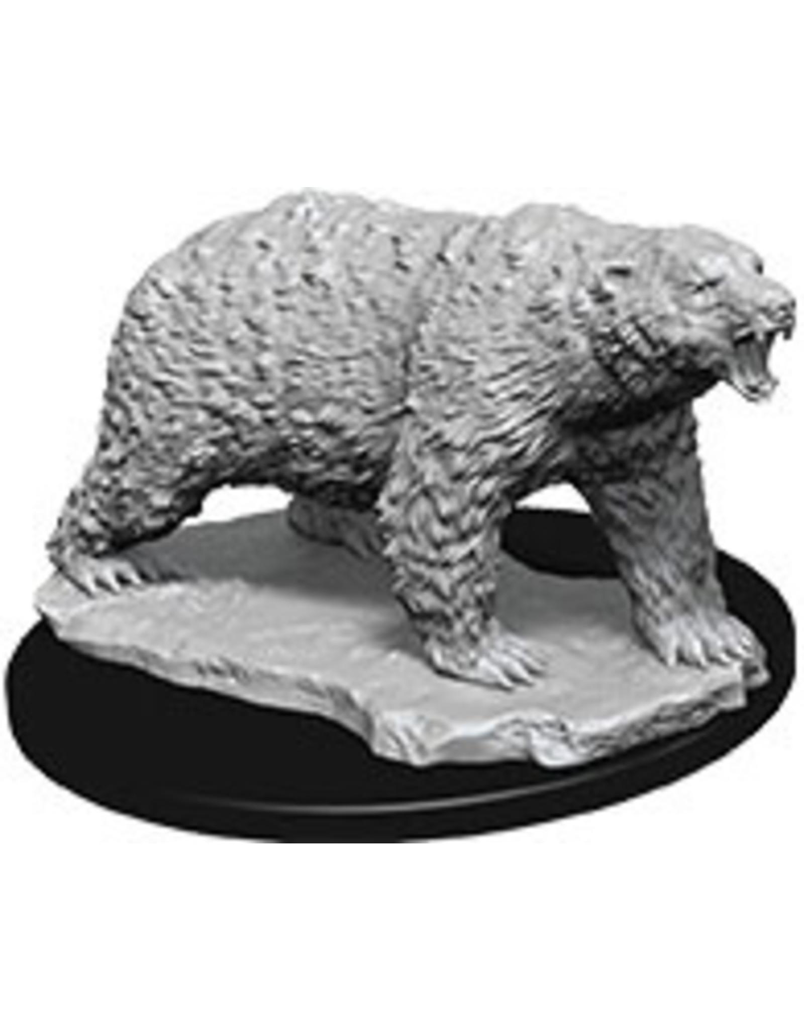 Wiz Kids Deep Cuts Unpainted Miniatures: W9 Polar Bear