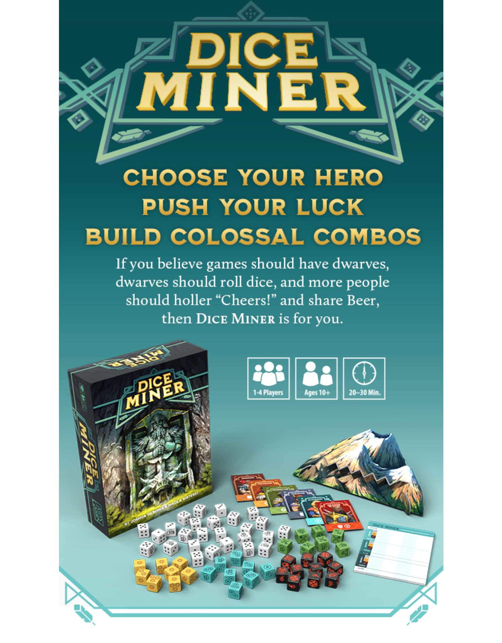 Atlas Games Dice Miner Deluxe Edition (Kickstarter) (Pre Order)