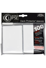 Ultra Pro Deck Protector: PRO-Matte: Eclipse: WH (100)