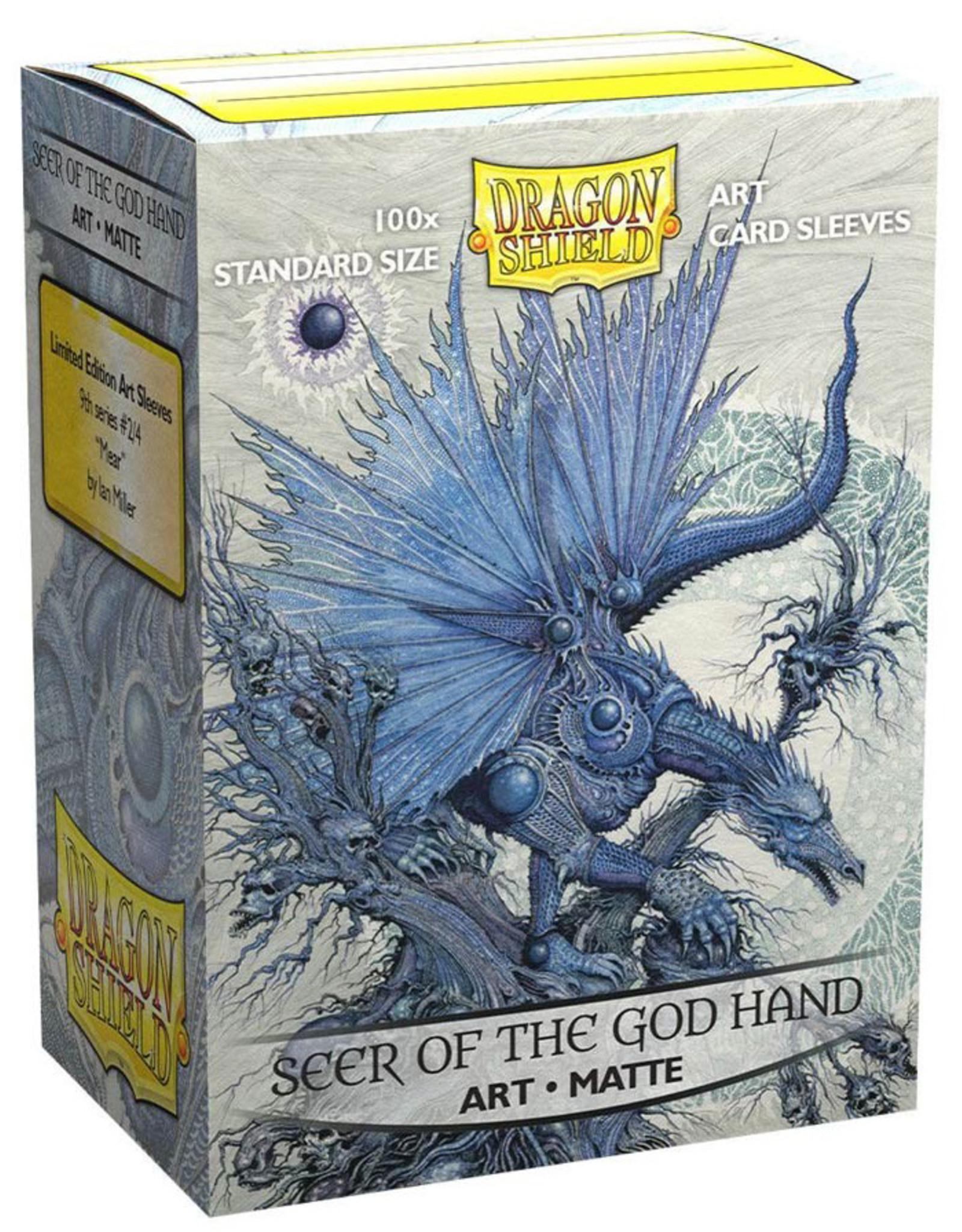 Dragon Shield: Art: Matte Seer o/t GodHand (100)