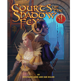 Kobold Press Courts of the Shadow Fey for 5th Edition (Hardcover)