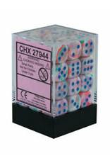 Chessex d6Cube 12mm Festive Pop-Art Blue