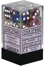 Chessex Festive Carousel/wh (12)