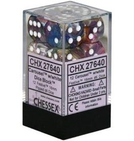 Chessex Festive Carousel/wh (12)