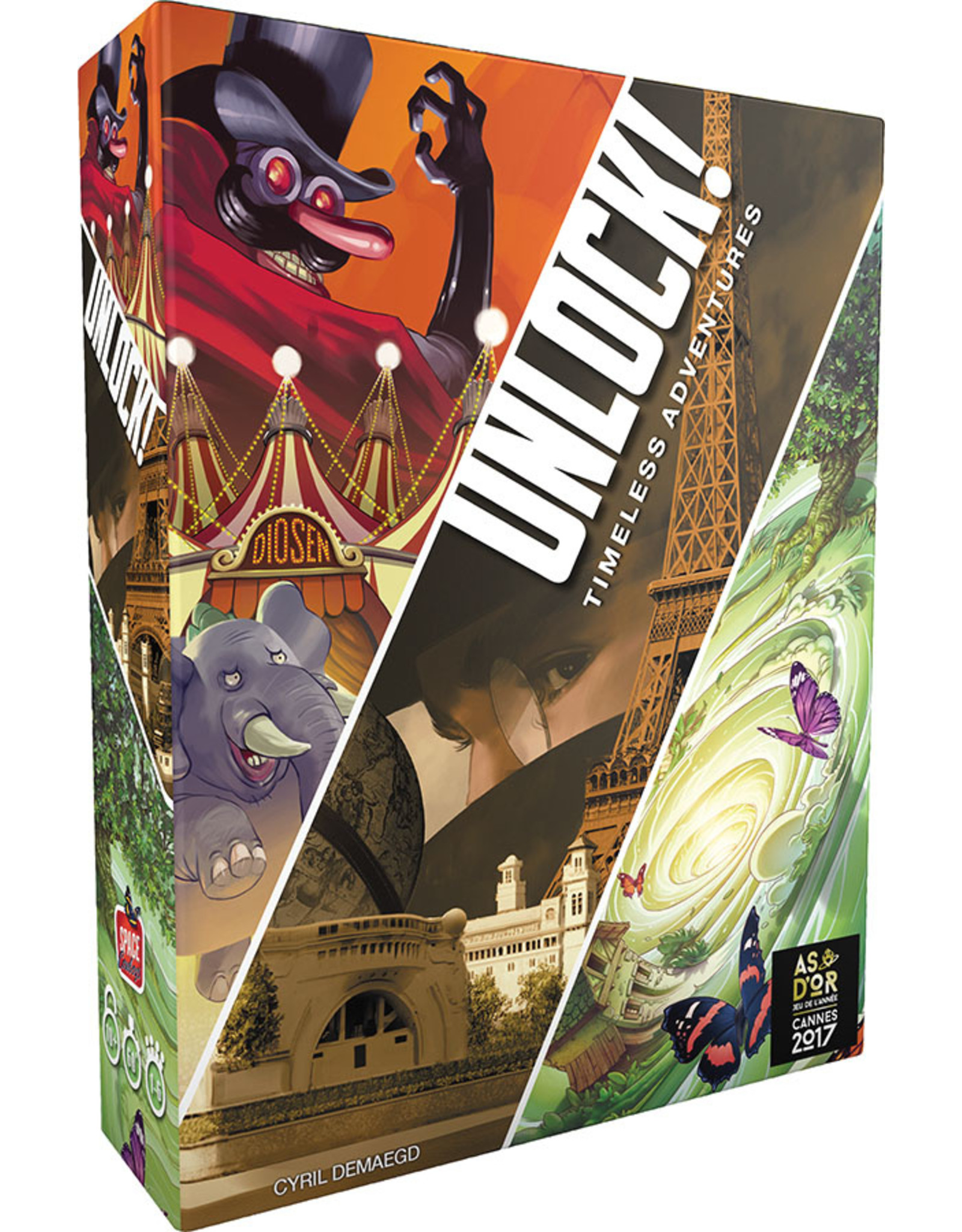 Asmodee Unlock! Timeless Adventures