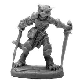Reaper Bones Black: Catfolk Rogue