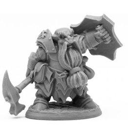 Reaper Bones Black: Dark Dwarf Smiter