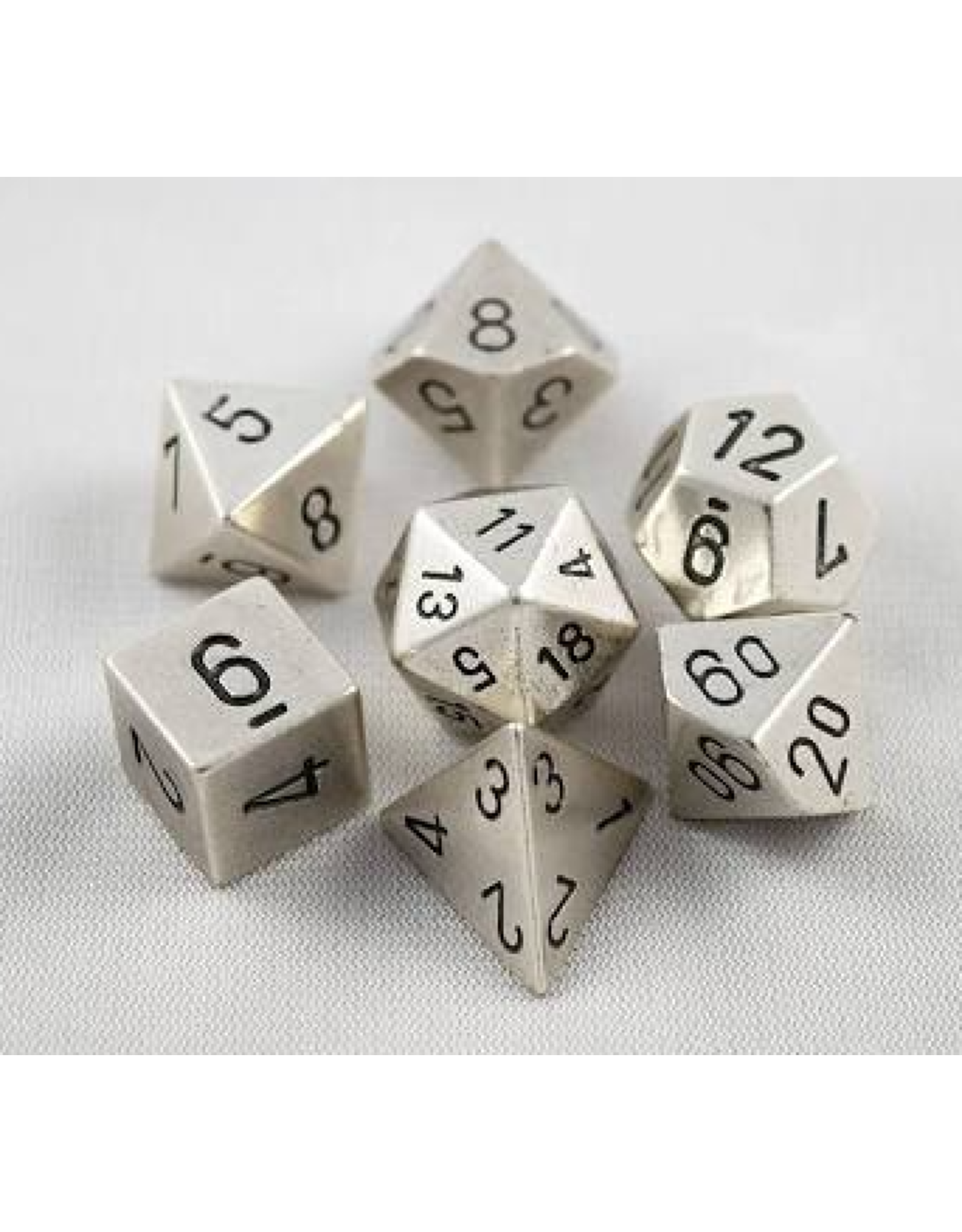 Chessex 7-Set Polyhedral metal: SV