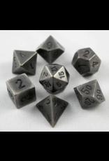 Dice 7-set metal: Dark Metal