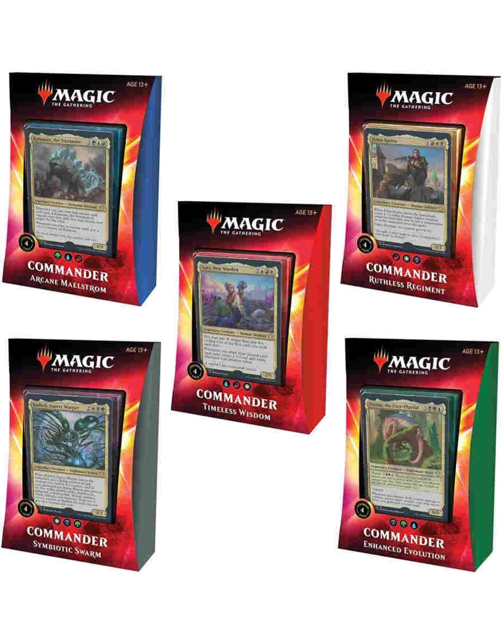 Magic MTG: Ikoria - Lair of Behemoths Commander Deck Display (5)