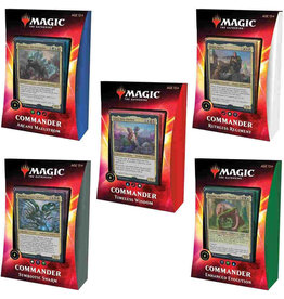 Magic MTG: Ikoria - Lair of Behemoths Commander Deck Display (5)