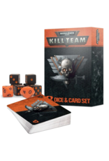 Warhammer 40k Kill Team Dice & Card Set