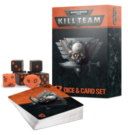 Warhammer 40K Kill Team Dice & Card Set