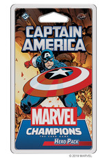 Fantasy Flight Games Marvel Champions LCG: Captain America Hero Pack
