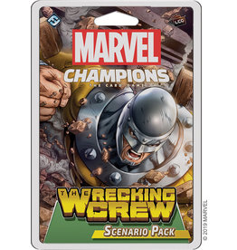 Fantasy Flight Games Marvel Champions LCG: The Wrecking Crew Pack