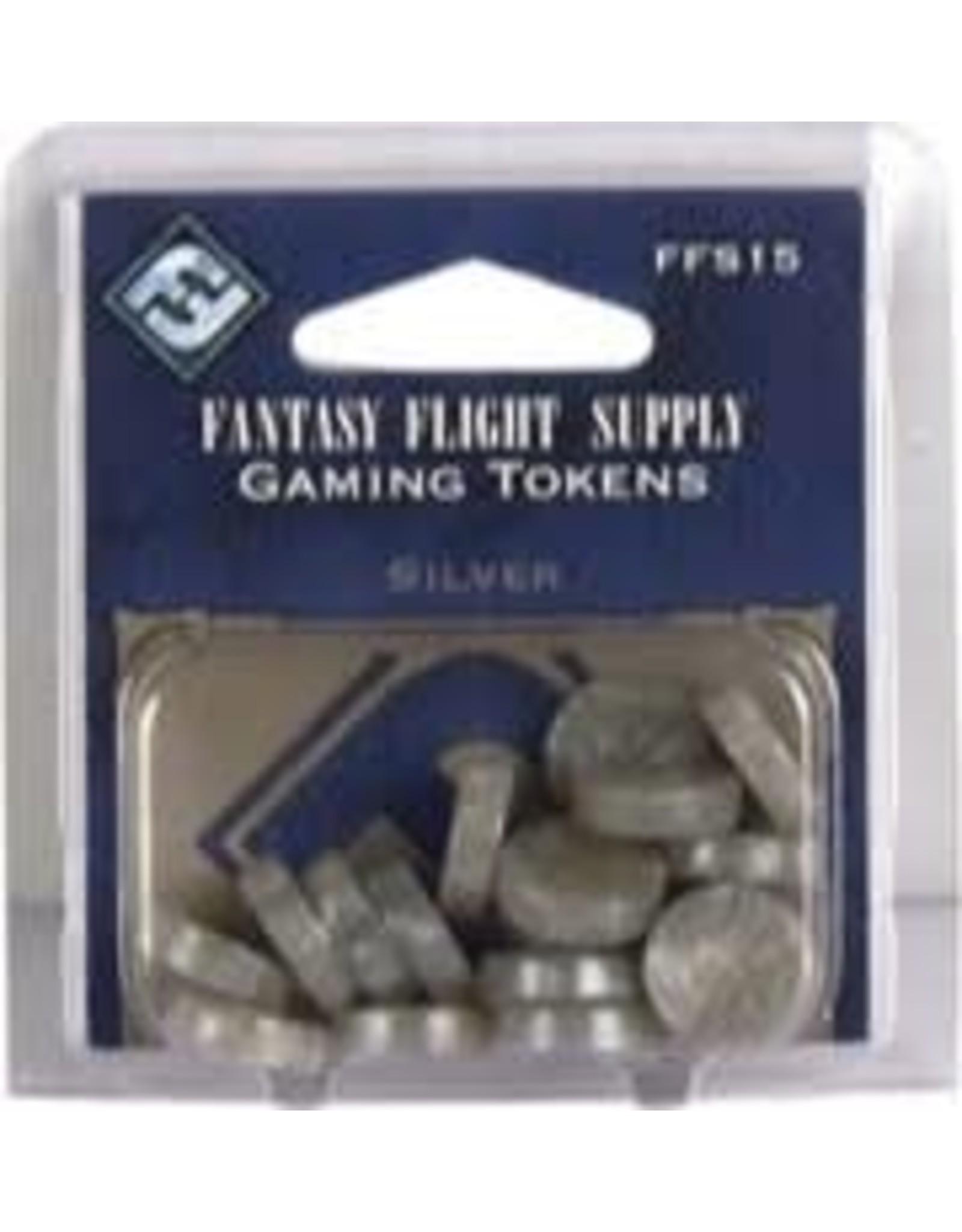 Fantasy Flight Games Gaming Tokens: Silver