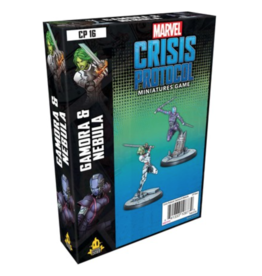 Asmodee Marvel: Crisis Protocol - Gamora and Nebula Character Pack