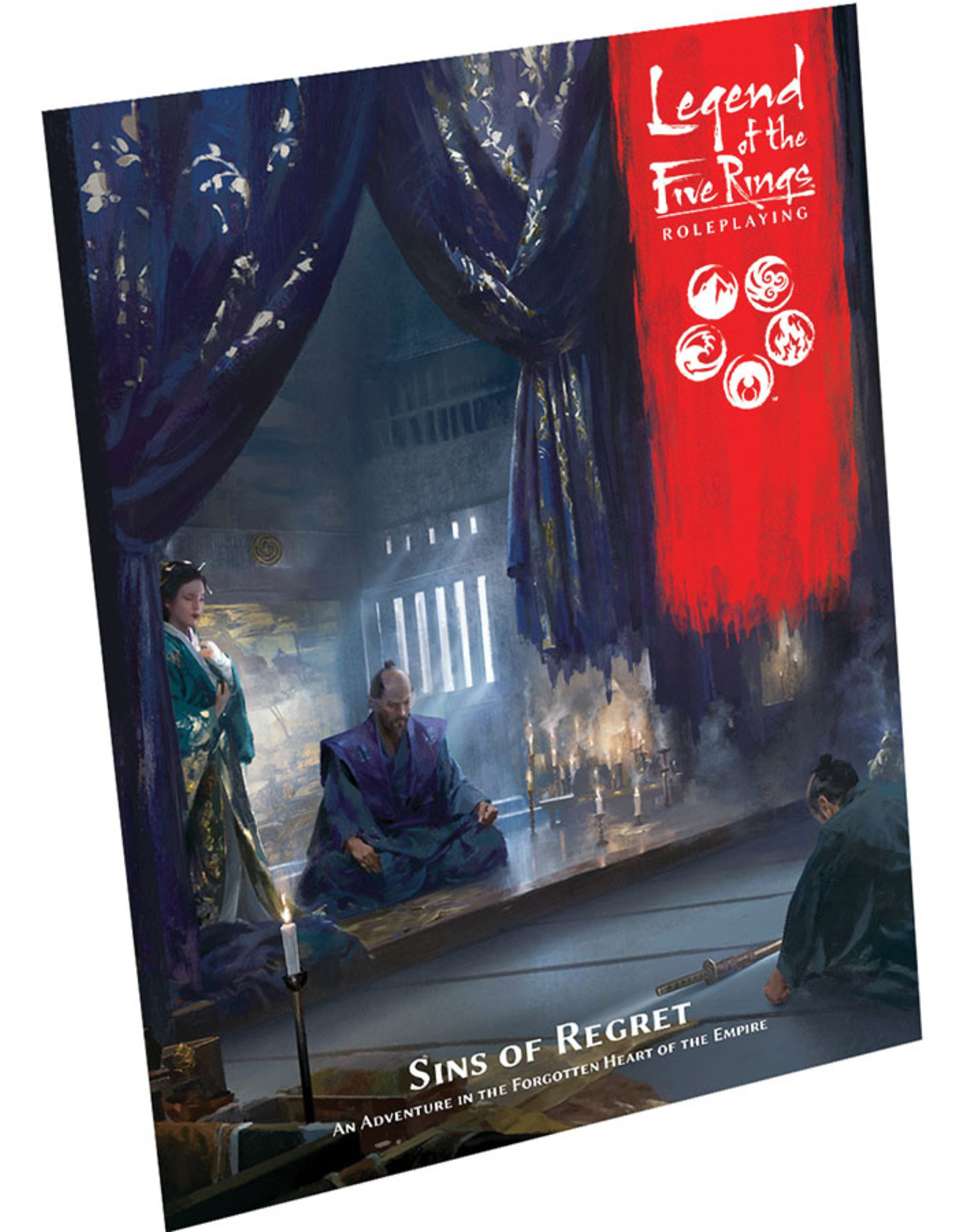 Role Playing Legend of the Five Rings RPG: Sins of Regret