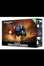 Warhammer 40K Space Marine Easy to Build Primaris Redemptor Dreadnought