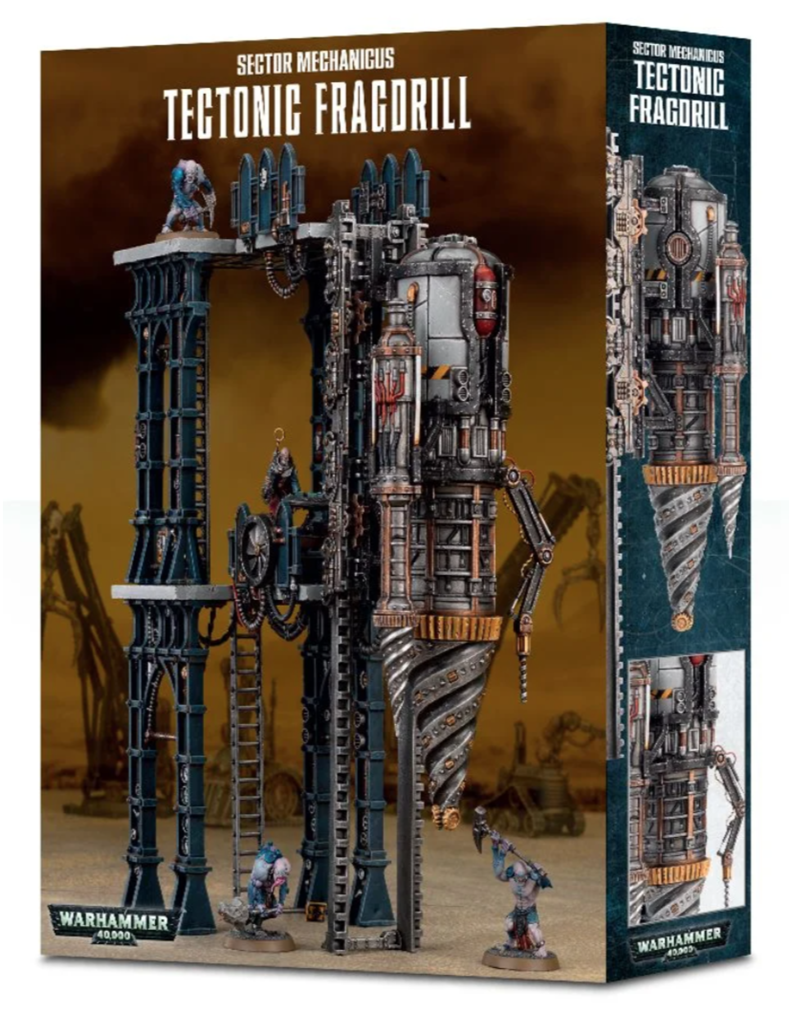 Warhammer 40K Sector Mechanicus Tectonic Fragdrill
