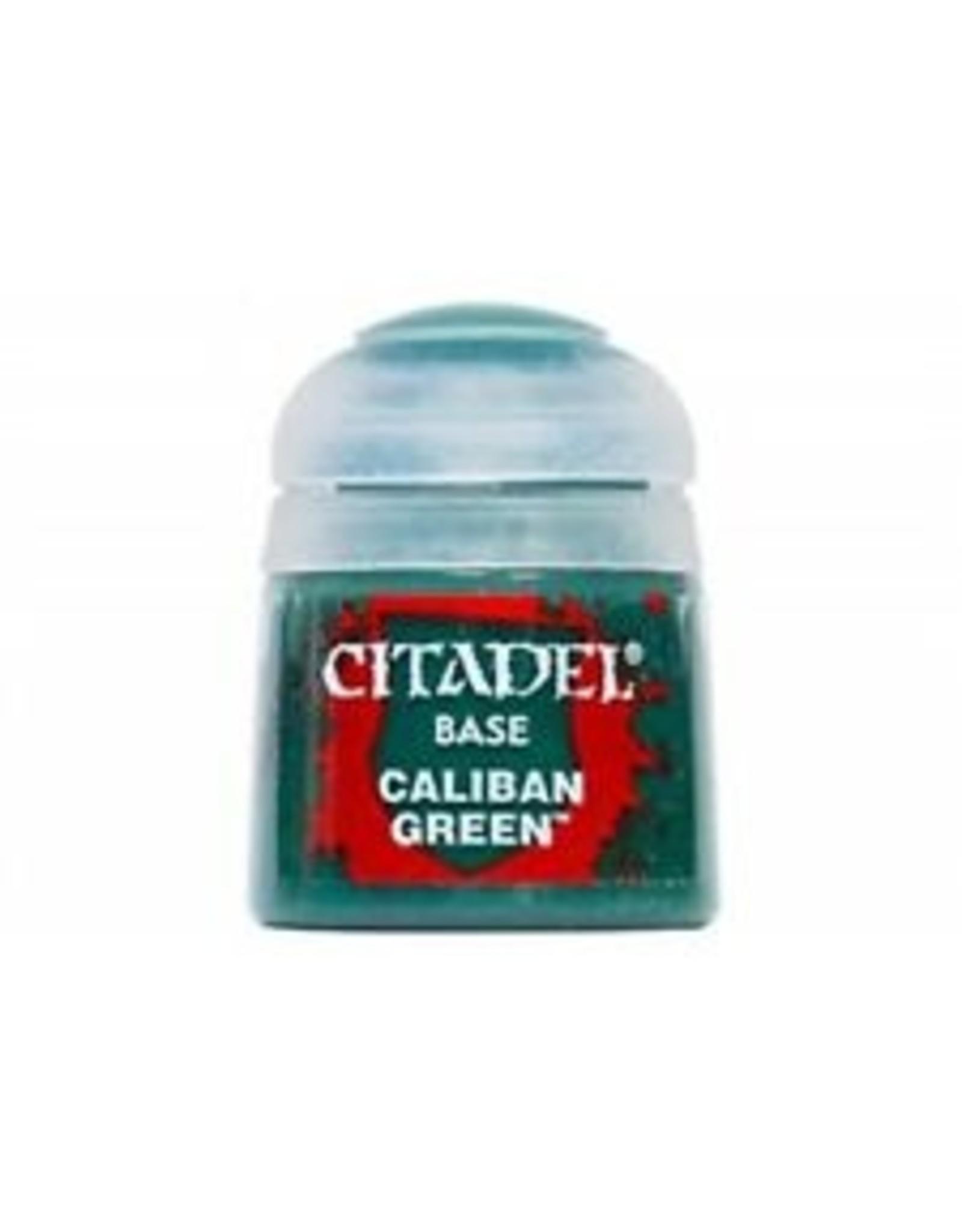 Citadel Citadel Paints: Base - Caliban Green