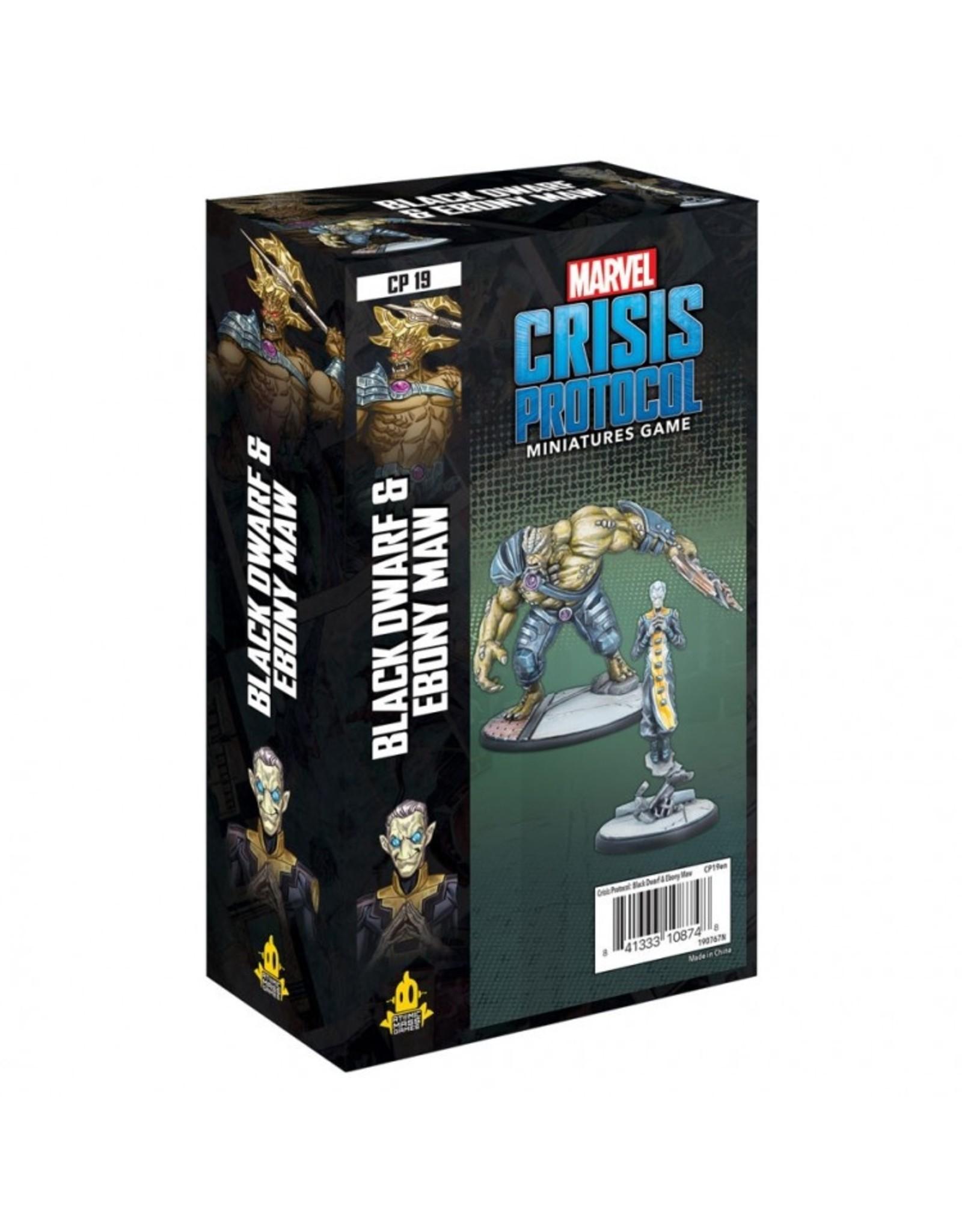 Atomic Mass Games Marvel: Crisis Protocol - Black Dwarf and Ebony Maw