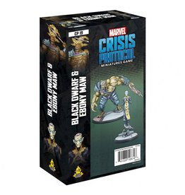 Asmodee Marvel Crisis Protocol: Black Dwarf and Ebony Maw
