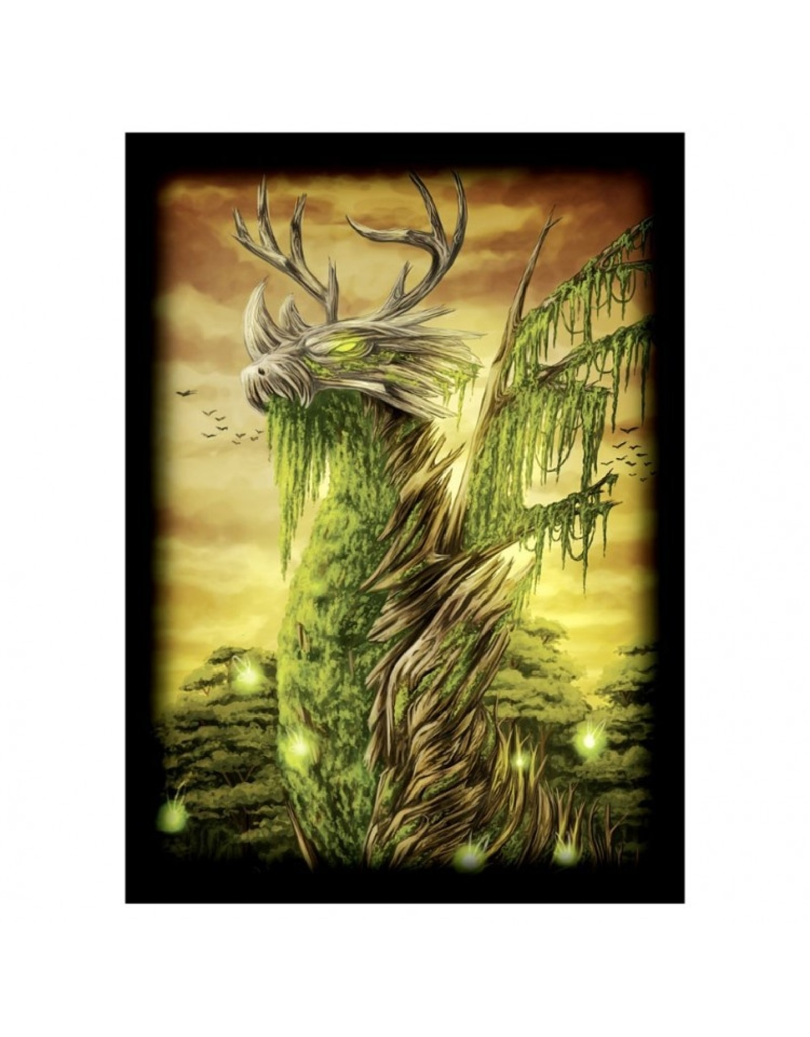Legion Deck Protector: Double Matte Dragon of the Wilds (50)