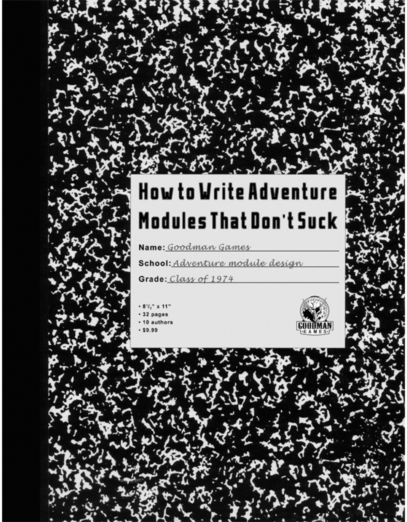 Role Playing How to Write Adventure Modules That Don't Suck