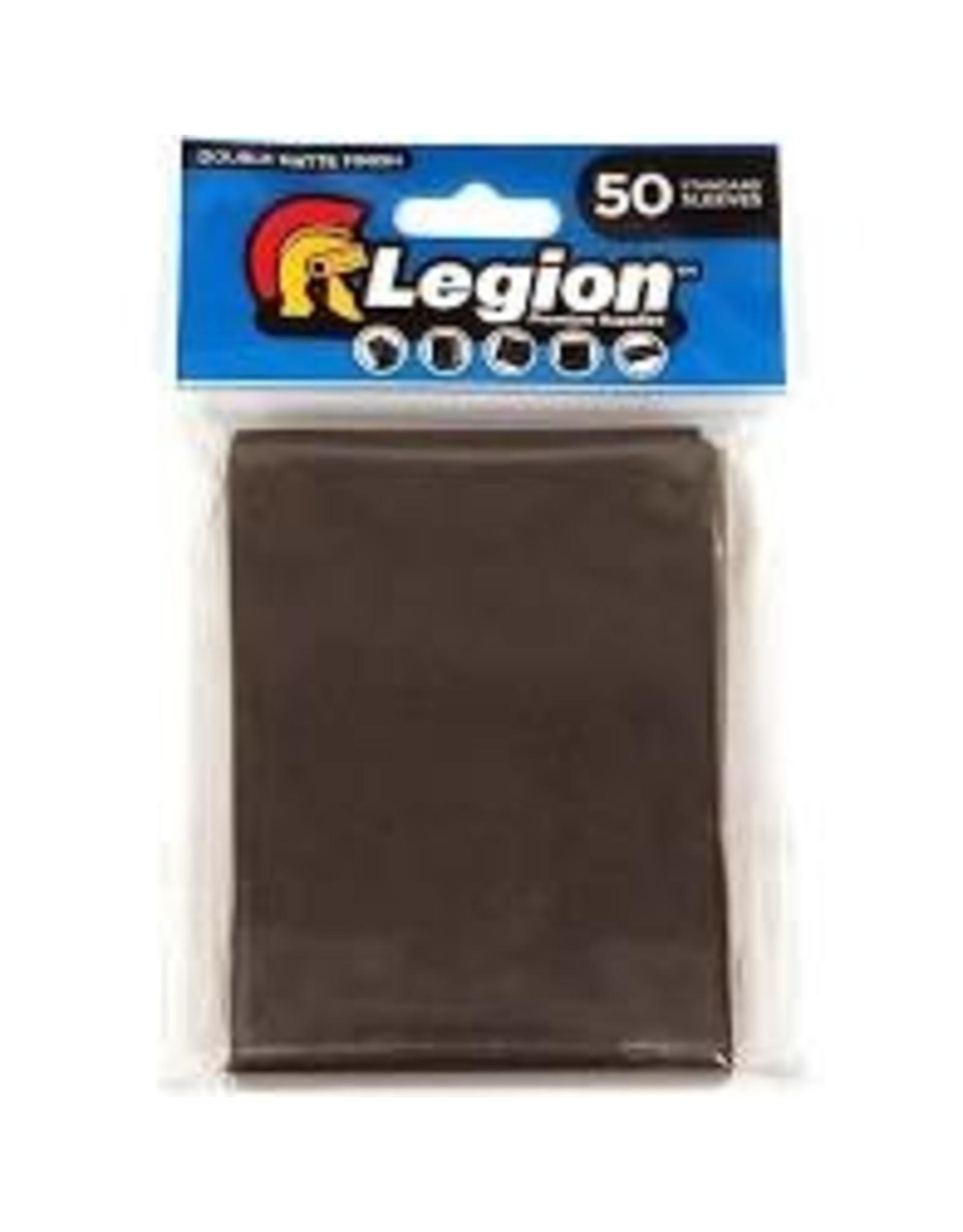 Legion Deck Protector: Double Matte Black (50)