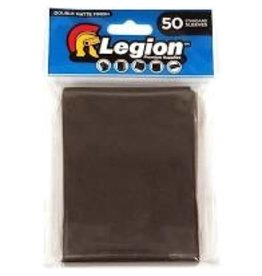 Legion Deck Protector: Double Matte Black (50)