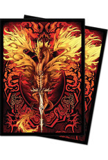 Ultra Pro Deck Protector: Ruth Thompson Flameblade (100)
