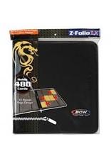 BCD Binder: Zipper Folio 12pkt: LX BK