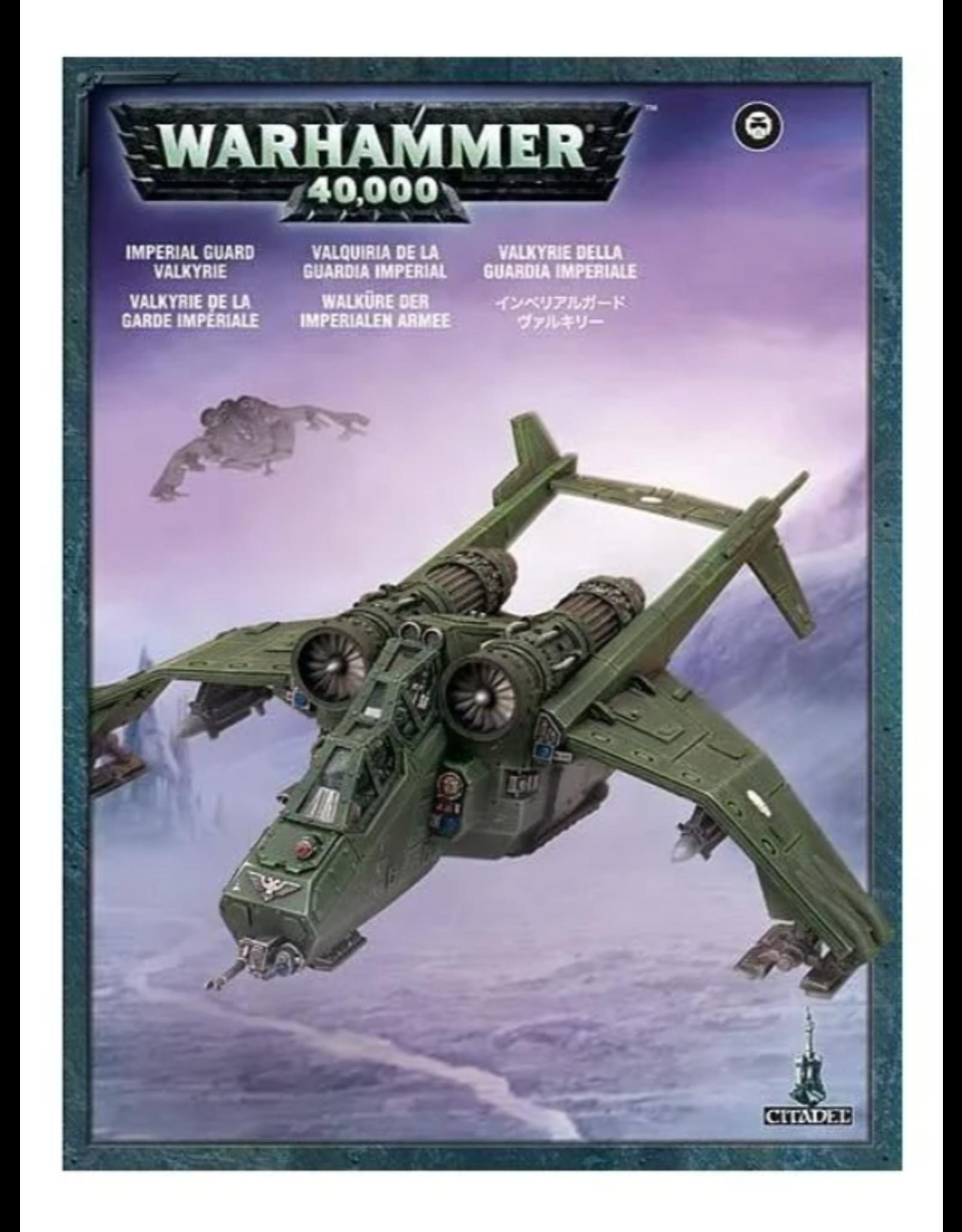 Warhammer 40K Astra Militarium Valkyrie