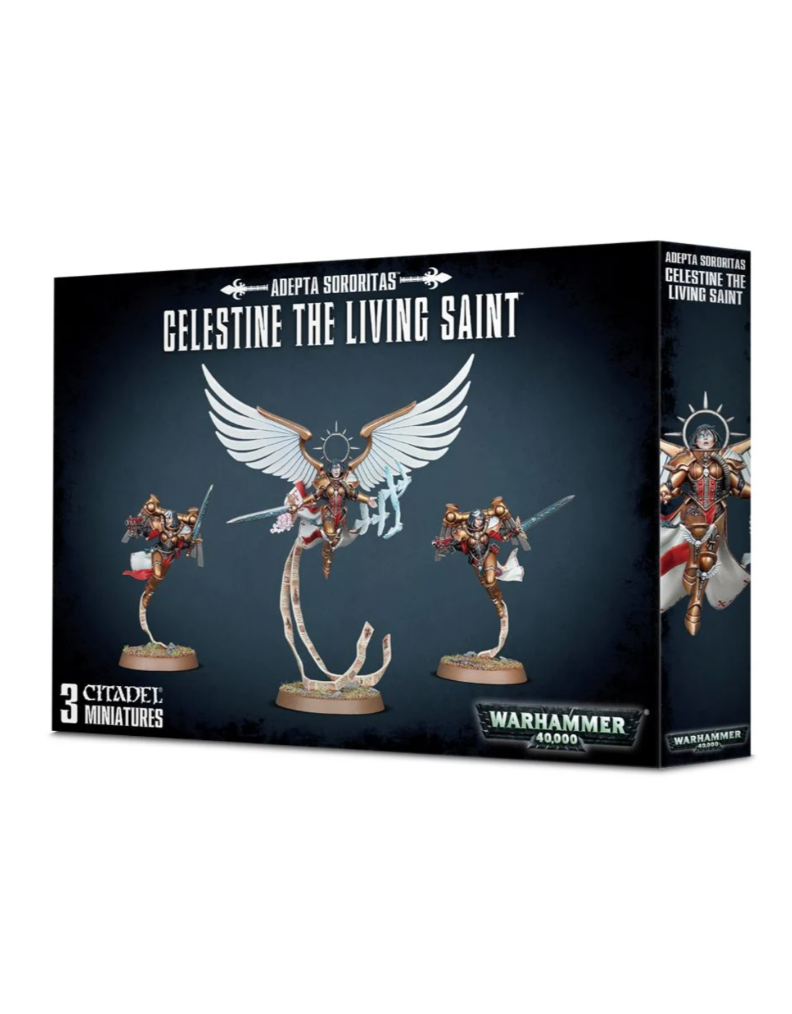 Warhammer 40K Adepta Sororitas: Celestine - The Living Saint