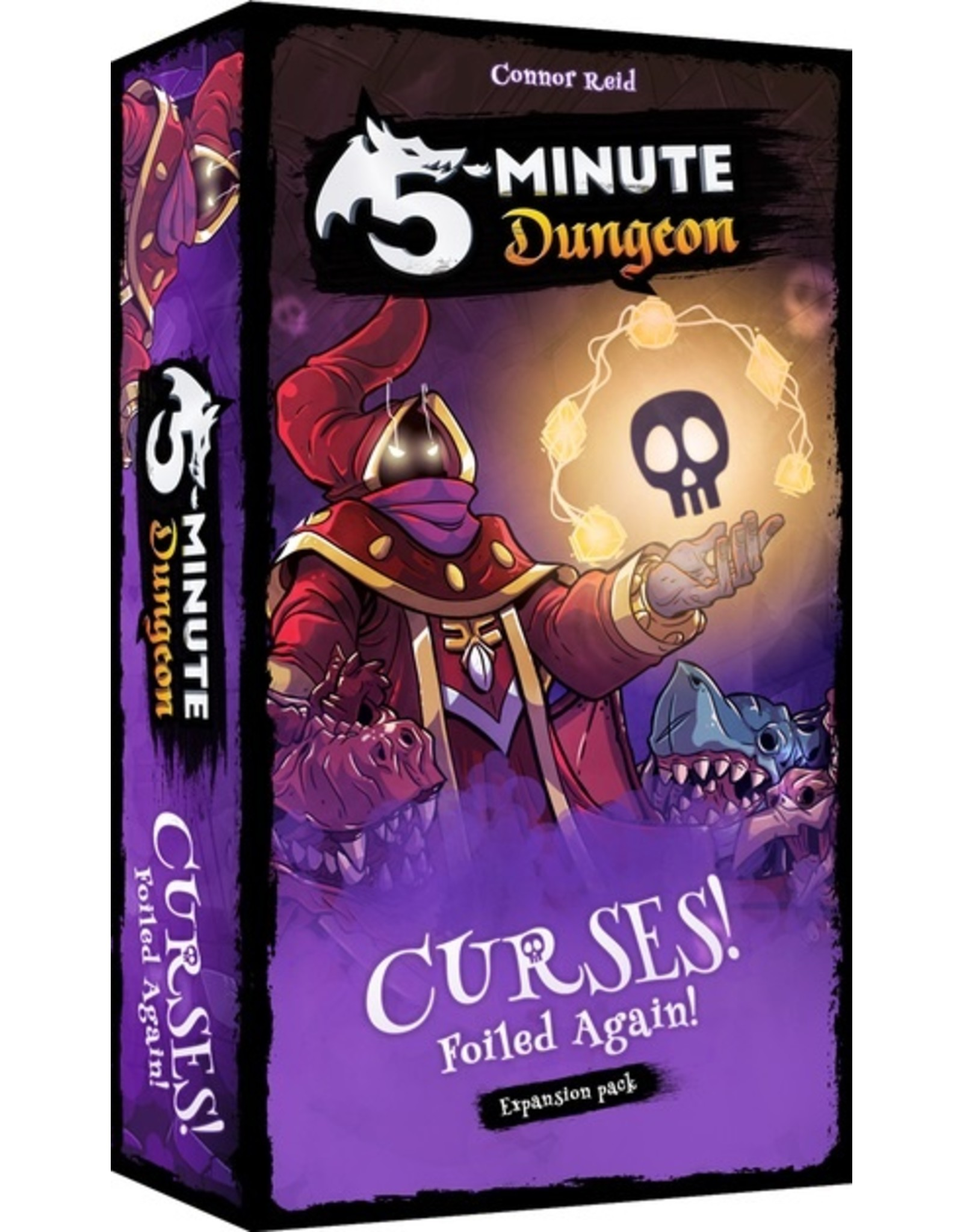 Spinmaster 5 Minute Dungeon: Curses Foiled Again