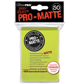 Ultra Pro DP: PRO-Matte - Bright Yellow (50std)