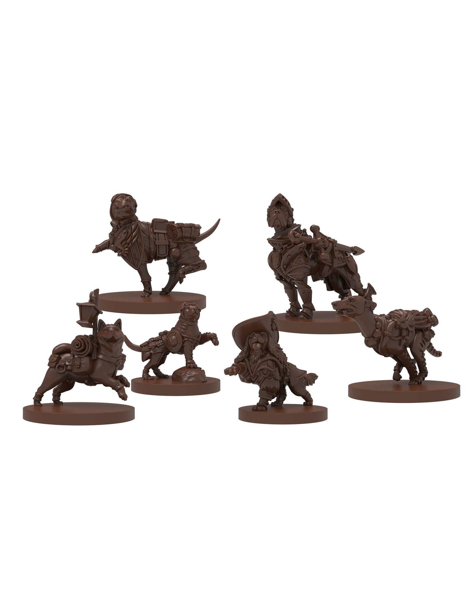 Steamforged Games D&D: Dungeons and Doggies: Box 3