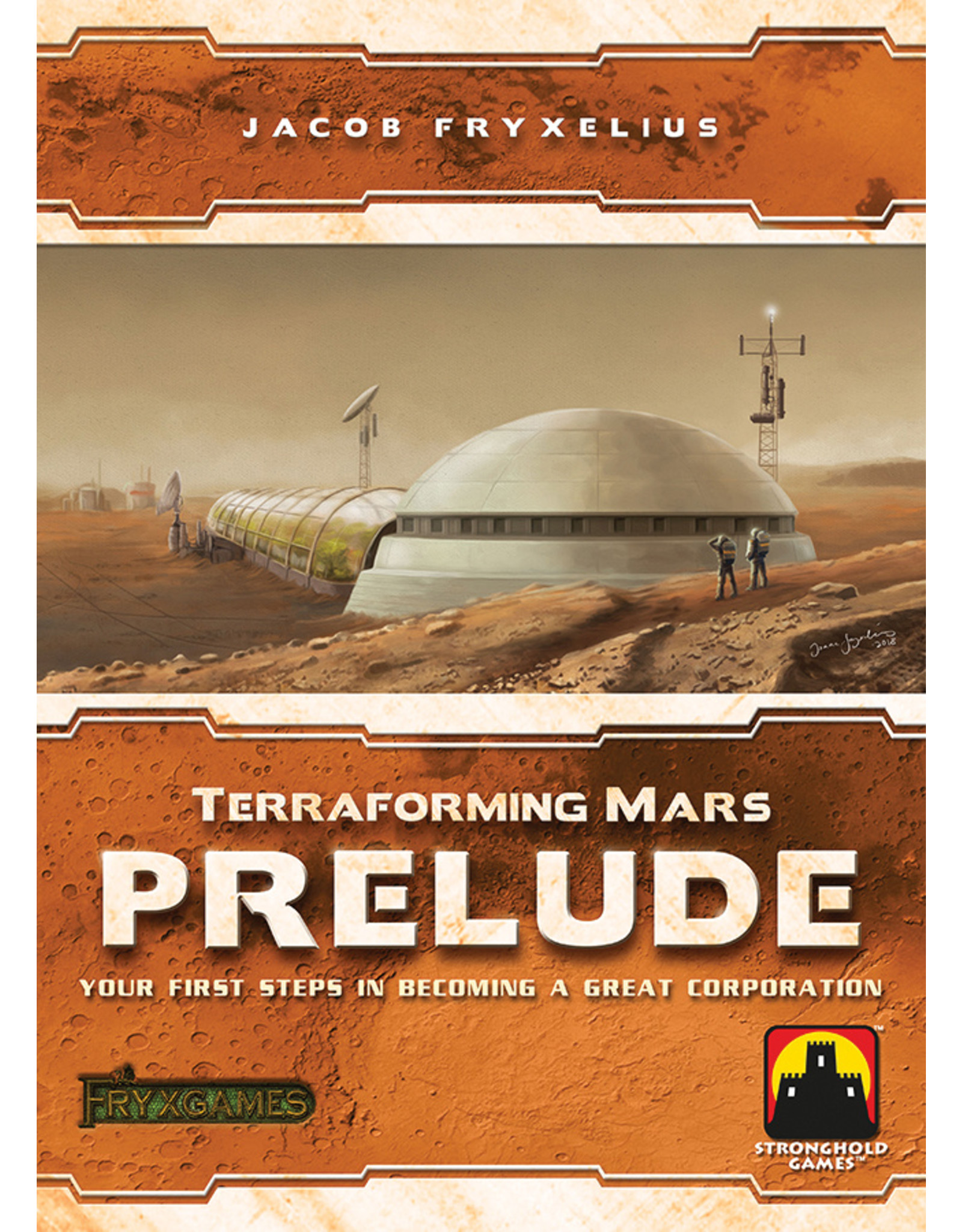 Stronghold Games Terraforming Mars: Prelude Expansion
