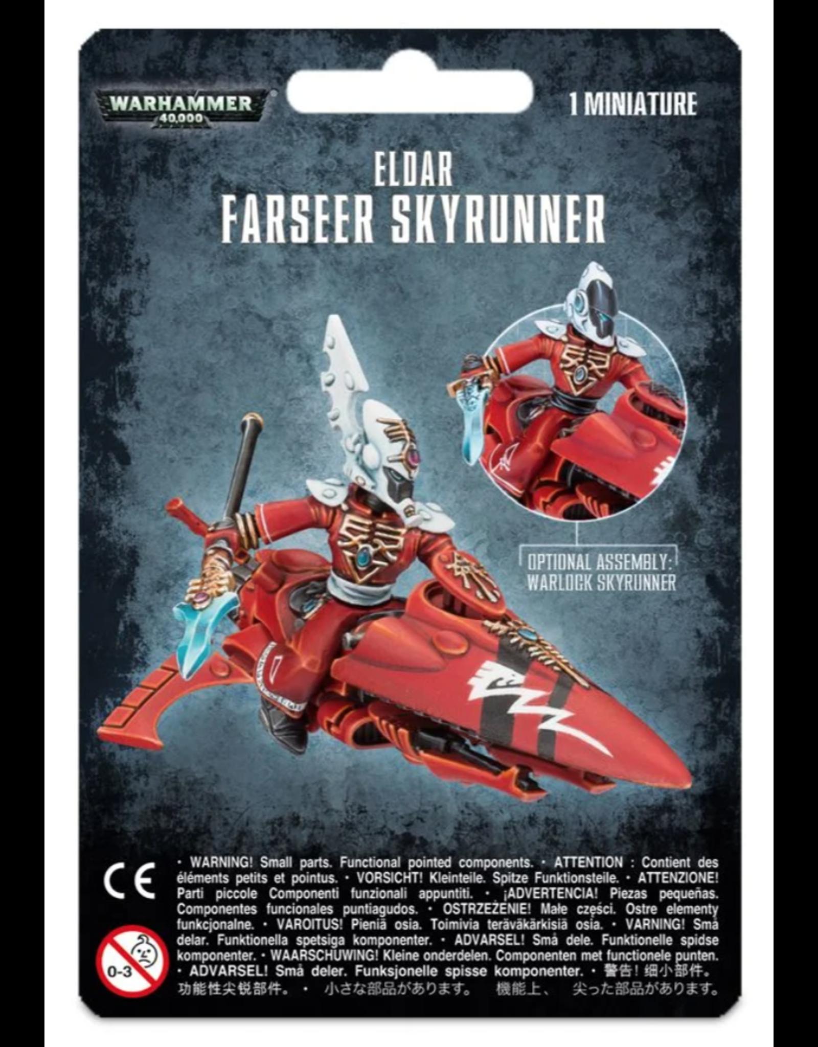 Warhammer 40K Craftworlds Farseer Skyrunner