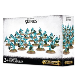 Age of Sigmar Seraphon Skink Regiment