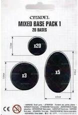 Warhammer 40K 40K Bases: Mixed Base Pack 1