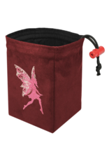 Dice Baroque Fairy - Embroidered Dice Bag