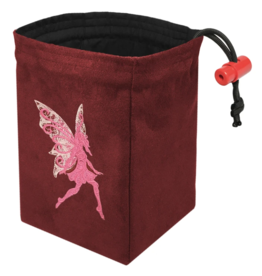 Baroque Fairy - Embroidered Dice Bag