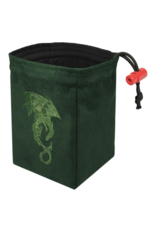 Dice Baroque Dragon - Embroidered Dice Bag